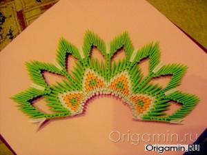 Оригами тигр схема сборки фото 124