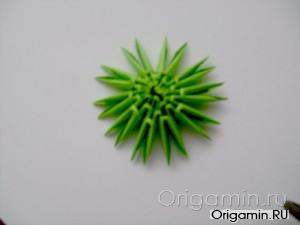 Модульное оригами торт схема сборки фото 572