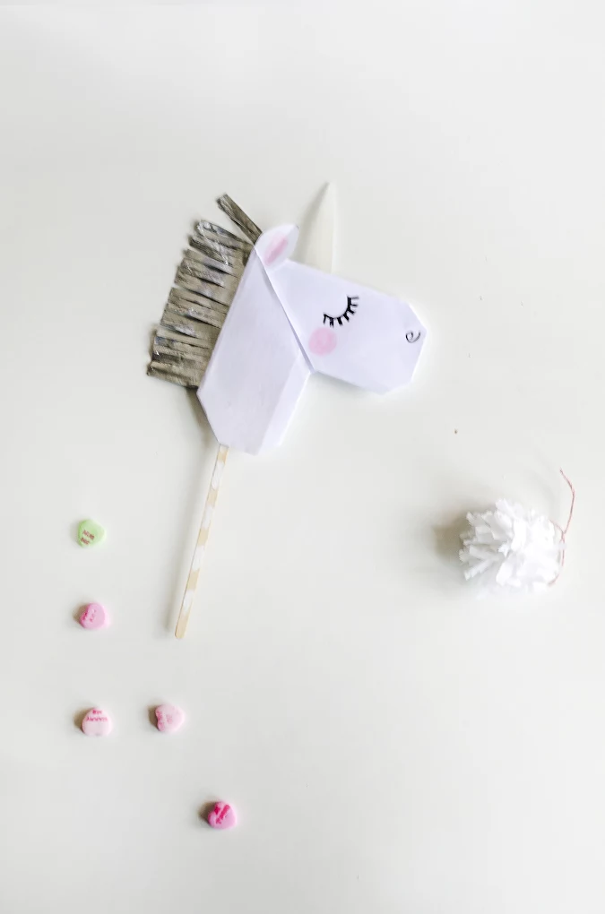Единорог открытка игрушка для детей