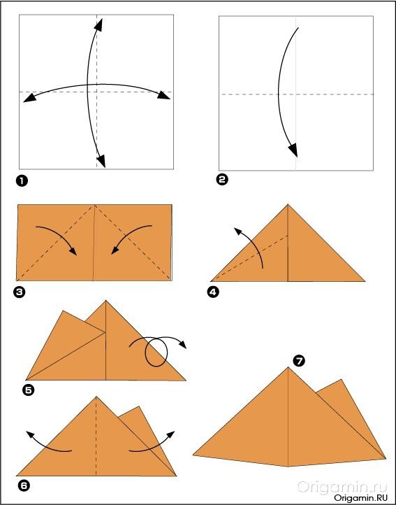 Как сделать пирамида
