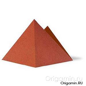 оригами горы из бумаги