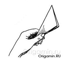 оригами хлопушка из бумаги