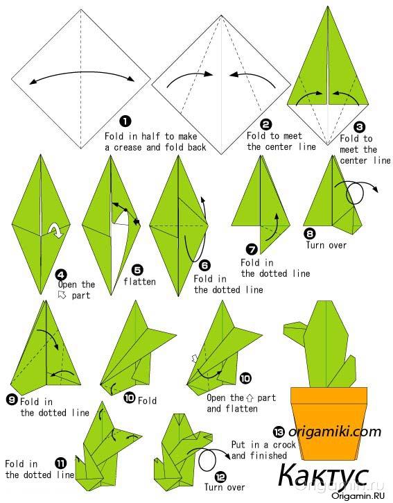 Оригами своими руками для начинающих схемы