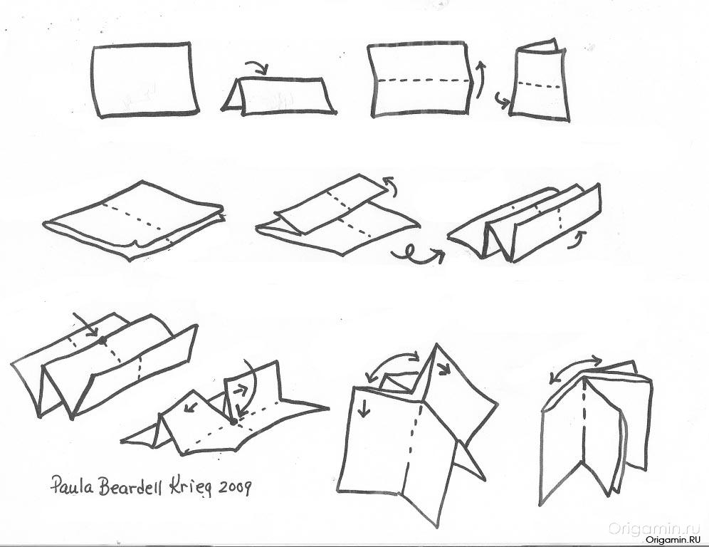 легкая поделка из бумаги