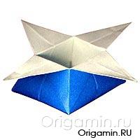 оригами коробочка из бумаги