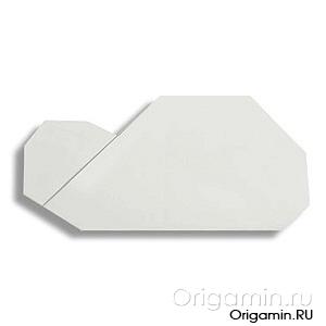 оригами облако из бумаги