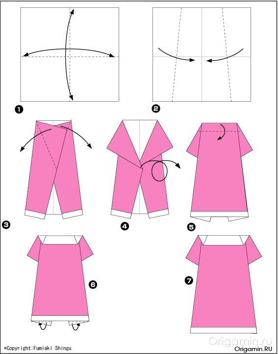 одежда из бумаги