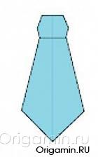 оригами одежда из бумаги