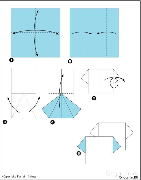 Оригами открытки из бумаги схемы для, новому году маме