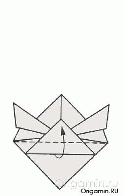 как сделать рыбу из бумаги
