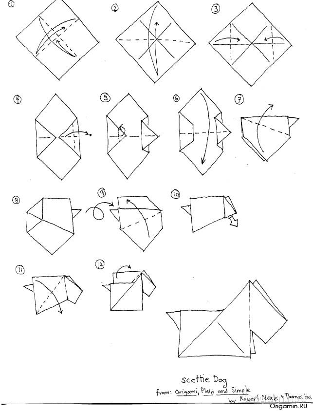 Как сделать оригами из бумаги фото