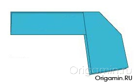 оригами оружие из бумаги