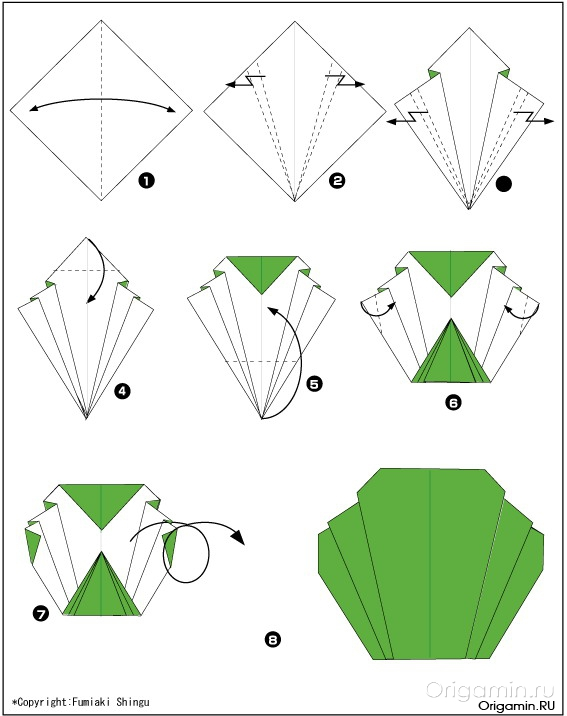 Фрукты оригами своими руками