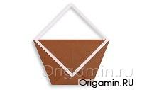 оригами сумка из бумаги