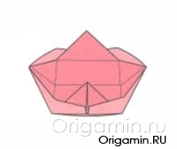 оригами тарелка из бумаги