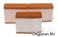 оригами торт из бумаги