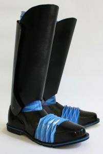 Оригинальная обувь оригами