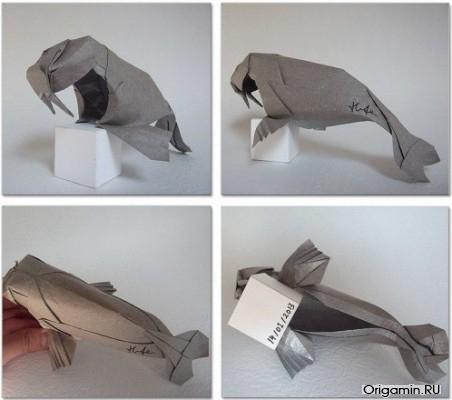 Оригами-морж
