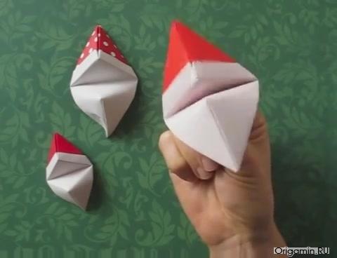 Пальчиковый Дед Мороз