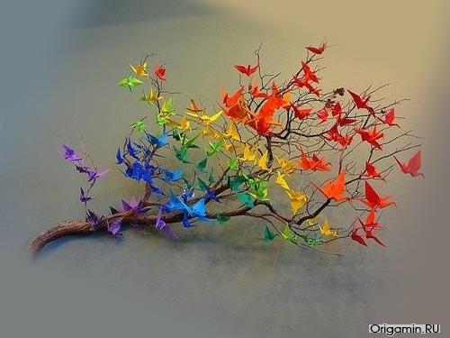 Интересные факты про искусство оригами