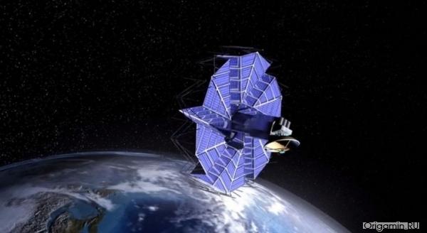 Искусство оригами выходит за пределы Земли