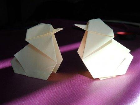 Оригами цыпленок Цыпа