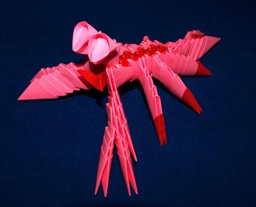Модульное оригами сказочного краба