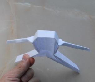 Оригами игра Смешные кубики, меняющие лица