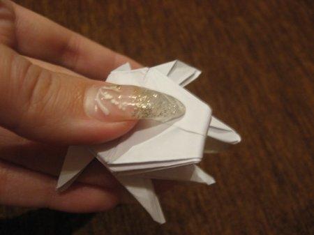 Оригами паук для начинающих