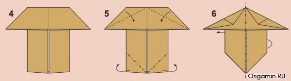 Оригами сфинкса 105