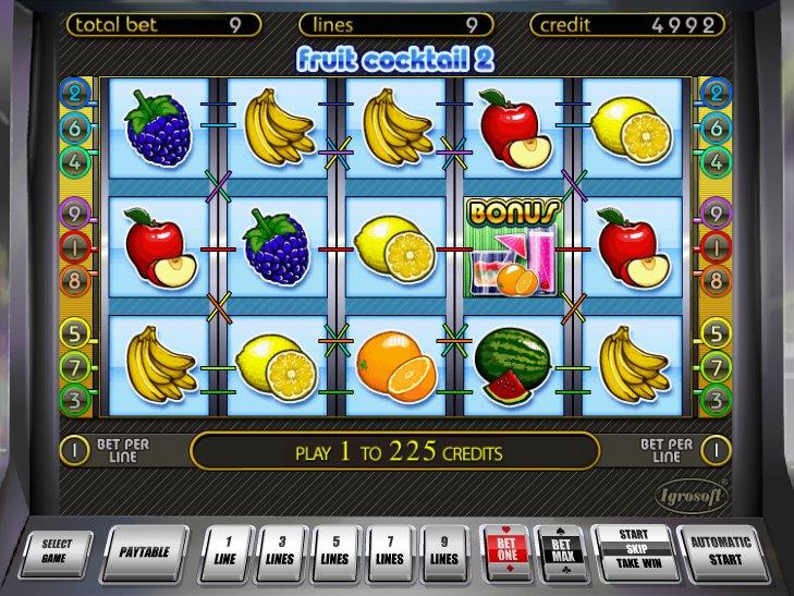 Free online slot games fruit cocktails